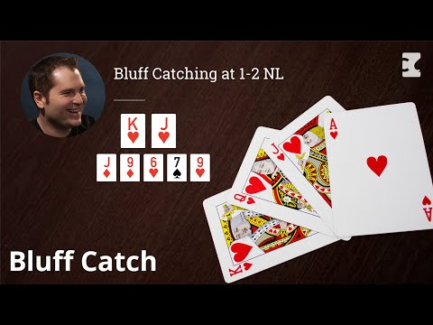 Poker strategy: bluff catching at 1-2 nl