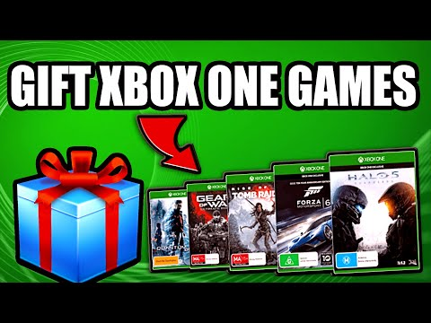 How to gift xbox one games on microsoft store | (xbox one tutorial)