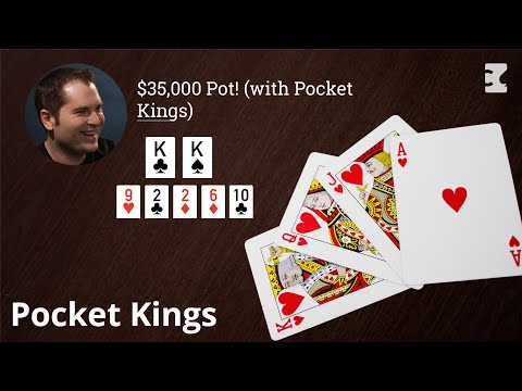 Poker strategy: $35,000 pot! (with pocket kings)