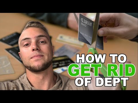 How to get rid of credit card debt (fixing utilization quickly)