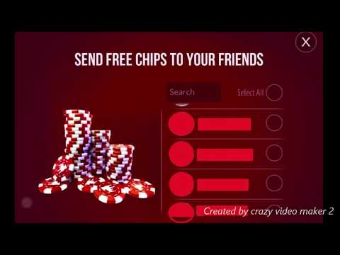 Zynga poker how to send chips to friends