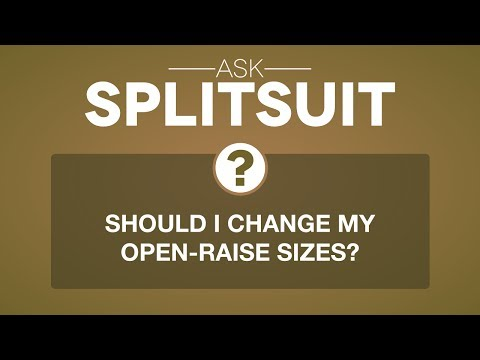 Can i change my open-raise size? | ask splitsuit