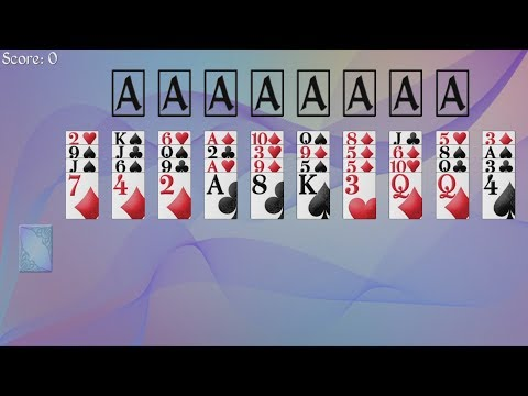 How to play forty thieves solitaire