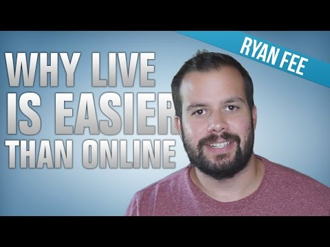 Why live poker is so much easier than online poker
