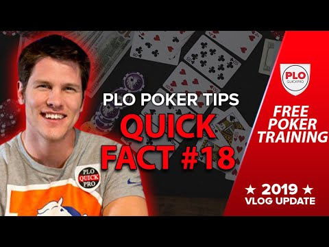 Free poker training - plo quickfact #18 it is almost always correct to call any...