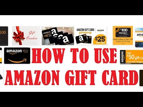 How to use amazon gift card   how to shop at amazon using gift card balance or gift certificate