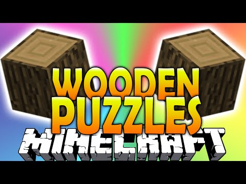 Minecraft 1.8 puzzle map - wooden puzzles with vikkstar123