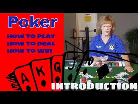 Professional poker training for beginners [step 8 of 34] - how to deal 7 card stud