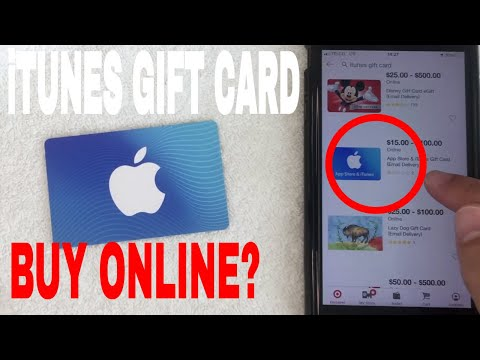 ✅ how to buy itunes gift cards online 🔴