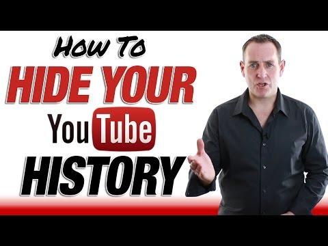 How to hide your youtube history