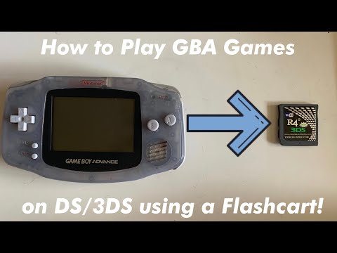 How to play gba games on your ds/3ds using a flashcart!! 2020   r4/acekard/dstt   ds/dsi/3ds/n3ds