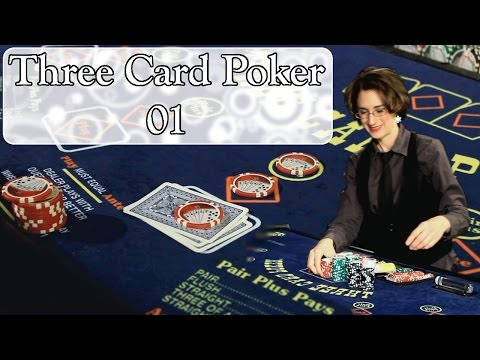 How to bet on three card poker & poker hand rankings