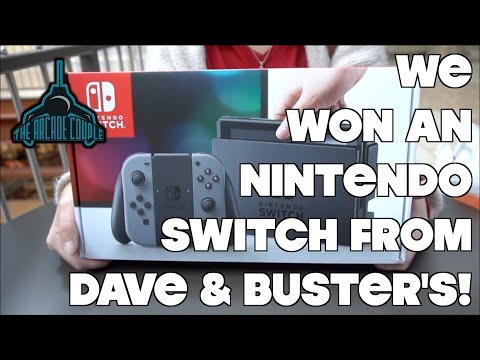 Dave & buster's almost scammed us out of an nintendo switch!
