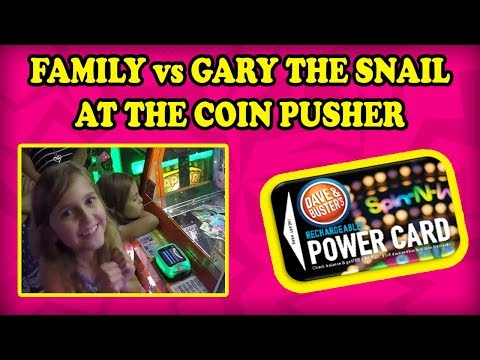 Dave and busters! jackpot! how many complete spongebob coin pusher sets will we get? teamcc