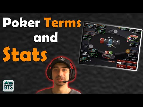 Poker stats uncovered: how to set up your hud (poker terms explained)