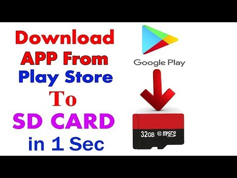How to download any apps from playstore to sd card android without root