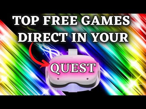 Free 14 oculus quest 2 games - no wires, no pc no phones needed!