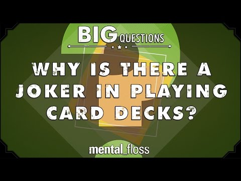 Why is there a joker in playing card decks? - big questions - (ep. 208)