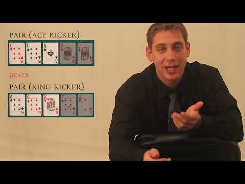 Poker hand rankings - intro to poker rules & how to compare hands to see who wins - lesson 15 of 38