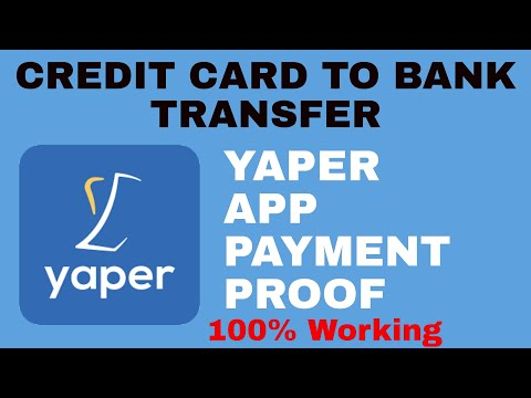 Yaper app payment proof   credit card to bank transfer with yaper app best method