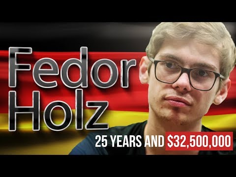 25 years and $32 500 000. fedor holz - a prodigy or lady luck's favourite