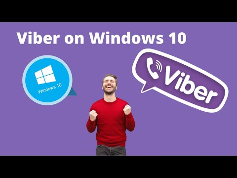 How to install viber on windows 10