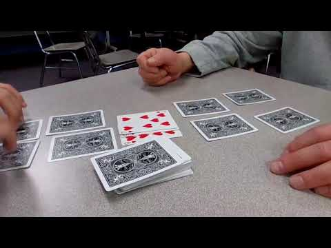 How to play the card game golf with 4 cards