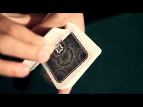 Mechanic deck poker size bicycle cards