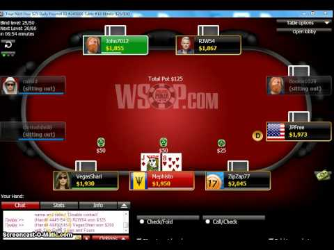 Wsop world series of poker nevada residents site review