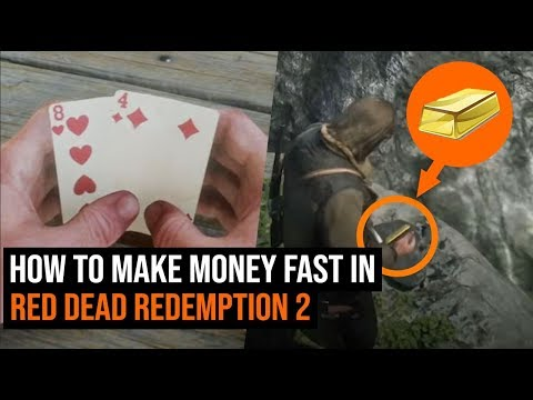 How to make money fast in red dead redemption 2