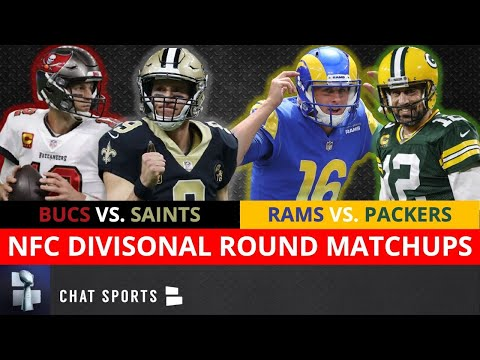 Nfl playoff picture, schedule, bracket, matchups, dates/times for 2021 nfc playoffs divisional round