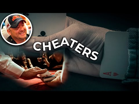 Cheaters and angleshooter in poker