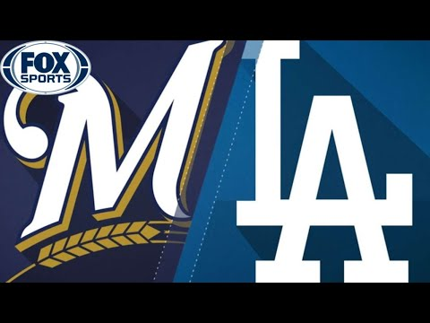 Milwaukee brewers vs los angeles dodgers   wild card 2020   game 1   live