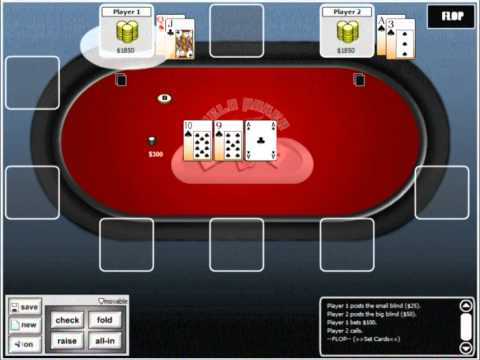 How to win at texas holdem online poker chapter 3 calculating odds.mp4