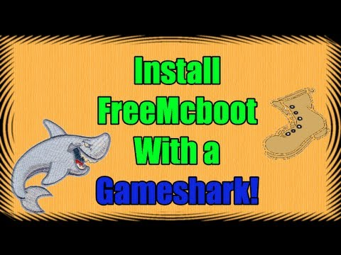 [how-to] install free mcboot on a ps2 memory card with a gameshark (simple!)