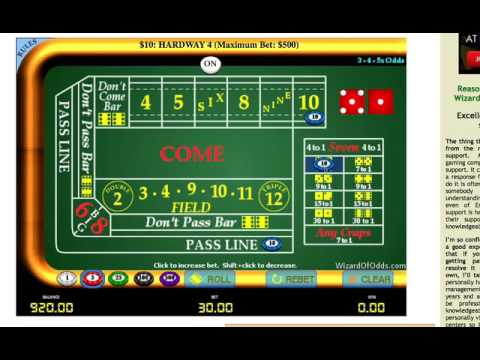 Best craps strategy - turn $300 into $4000