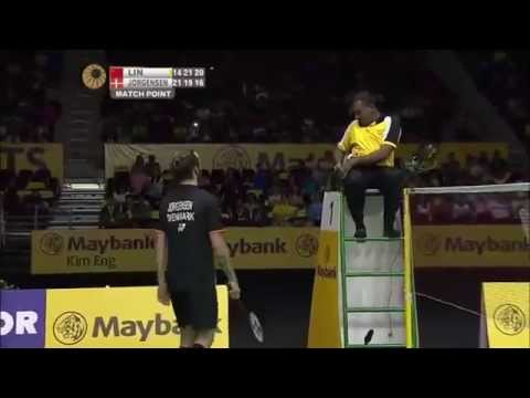 Jan o jorgensen gets angry and received yellow and red card