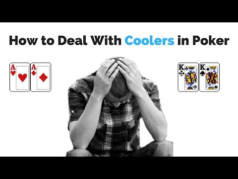 How to deal with coolers in poker