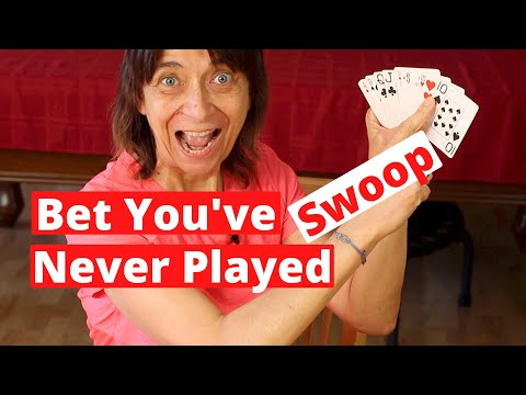 Fun card game i'm betting you've never played or heard of - swoop | rockin robin cooks