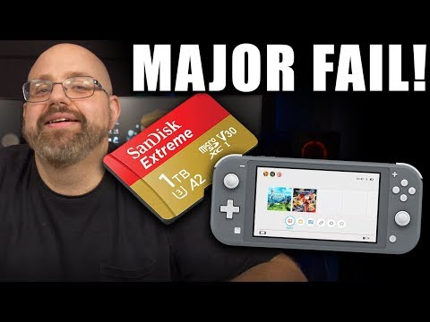 Why the hell did i buy this for my nintendo switch? (switch sd card upgrade tutorial)