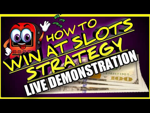 How to win money at the casino strategy - how to win at slots (free play)