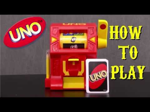How to play uno wild jackpot card game