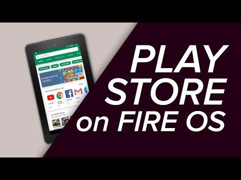 How to install the google play store on your amazon fire tablet!