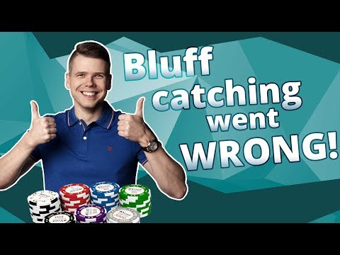 Bluff catching went wrong - poker hand of the week with pokertube!
