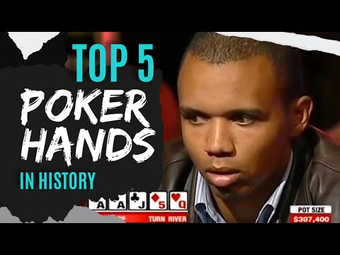 The 5 most amazing poker hands in history!