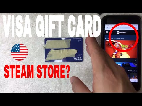 ✅ can you use visa debit gift cards on steam games 🔴