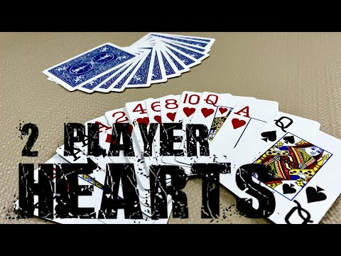 2 player hearts - card games for 2 players