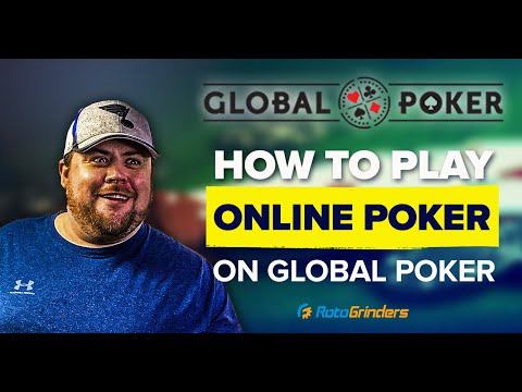 How to play online poker - getting started