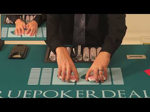 How to shuffle cards - how to deal poker - lesson 1 of 38