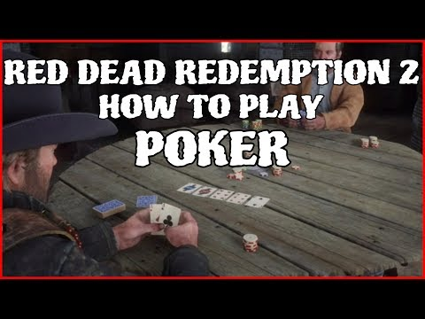 Rdr 2 how to play poker!